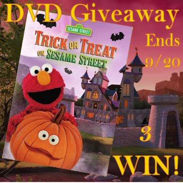 Sesame Street Trick or Treat on Sesame Street 3 WIN DVD Giveaway