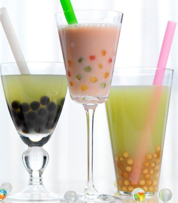 Three Bubble Teas