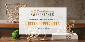 """""""Fall Home Makeover"""" Sweepstakes"""