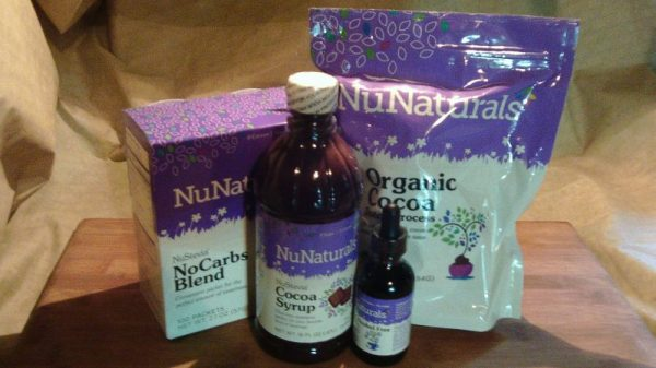 4 items for NuNaturals Givaway