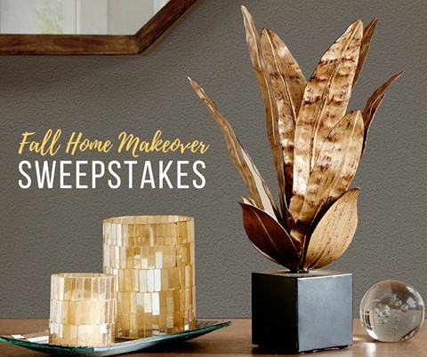 $1000 Fall Home Makeover Sweepstakes Ends 10/13/17