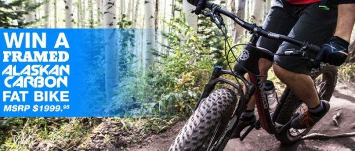 Framed Alaskan Carbon Fat Bike Giveaway