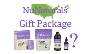 NuNaturals Giveaway Gift Package Feature