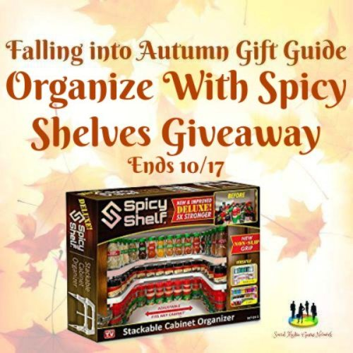 Organize With Spicy Shelves Giveaway