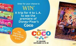 Win a Trip to See Disney·Pixar Coco Movie Premiere – Enter by 10/20/17