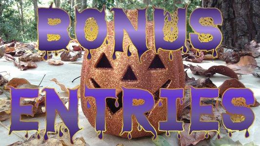 Halloween Pumpkin Bonus Entries