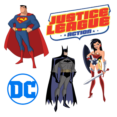 Justice League Action Season 1 Part 1 DVD