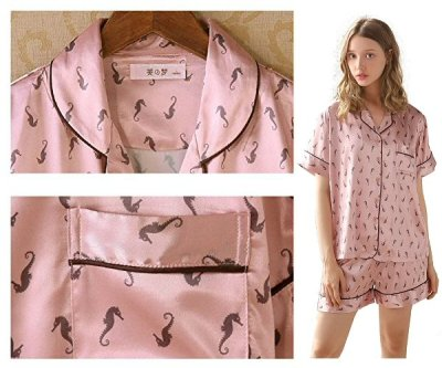 Women's Satin Pajama Loungewear Set – Super Comfy and Silky