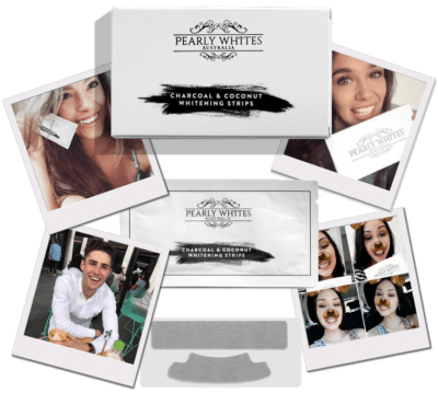 Pearly Whites Coconut & Charcoal Whitening Strips Giveaway Ends 11/9/17