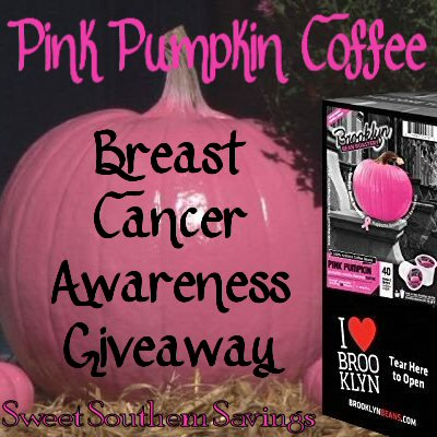 Breast Cancer Awareness Pink Pumpkin Coffee Giveaway