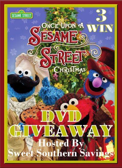 Sesame Street Once Upon a Sesame Street Christmas DVD Giveaway