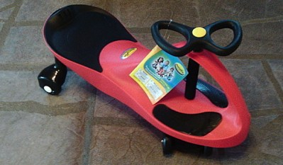 Twist, Turn, & Wiggle You Way To Endless Fun With The PlasmaCar!