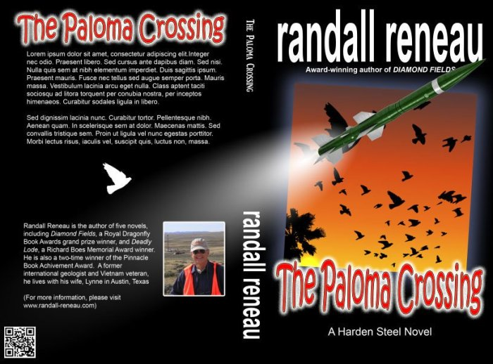 Must Read Crime Thriller The Paloma Crossing (Hardin Steel Book 2)