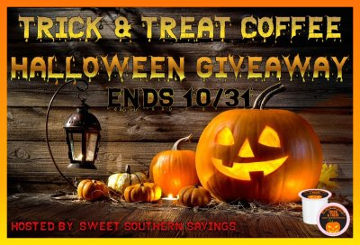 Trick & Treat Coffee Halloween Giveaway Ends 10/31/17
