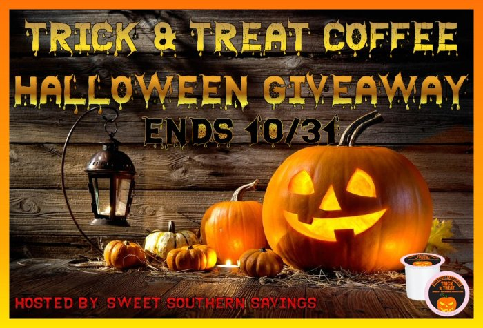 Trick & Treat Coffee Halloween Giveaway