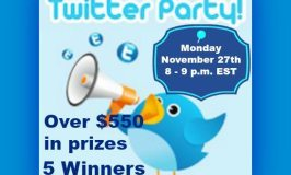 Join Us Cyber Monday 11/27/17 for the #WinGames Holiday Twitter Party