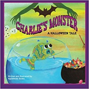 5 WIN a Signed Copy of Charlie's Monster: A Halloween Tale & a Puppet! Ends 11/25/17