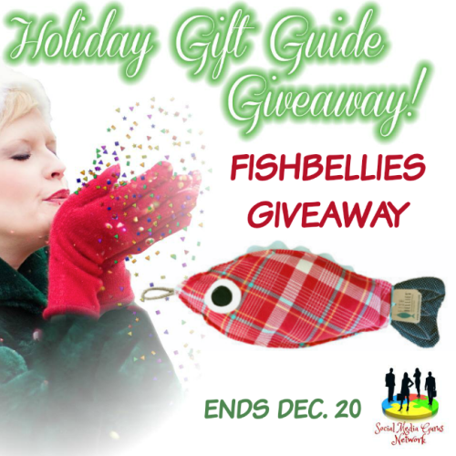 Fishbellies Heating Pad Holiday Gift Guide Giveaway