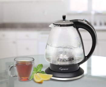 HOLIDAY GIFT GUIDE GIVEAWAY - Kitchen Essentials Capresso H2O Glass Rapid-Boil Kettle