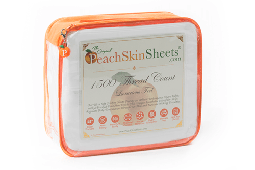 One winner will receive a set of PeachSkinSheets in any size and color when this Mother & Father's Day giveaway ends 6/17!