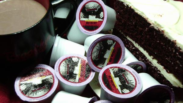 Santa's Super Stocking Stuffer - Red Velvet Coffee and Cake by Paula Stewart