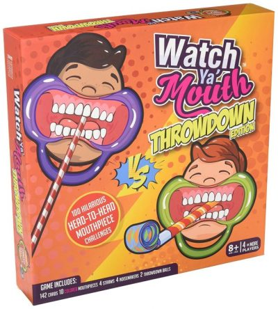 Watch Ya Mouth Throwdown Edition the TOP SELLING, AWARD WINNING PARTY CARD GAME!