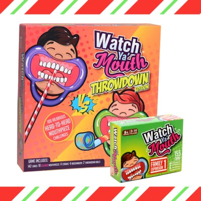 Watch Ya' Mouth Throwdown game Box - 15% off Coupon Code