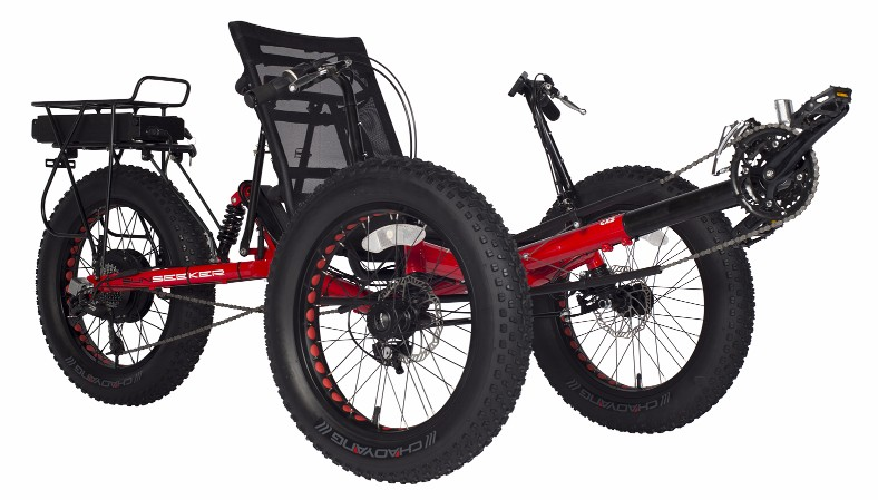 Win an Electric Fat-Tad Recumbent Trike Valued at $3,048! Giveaway