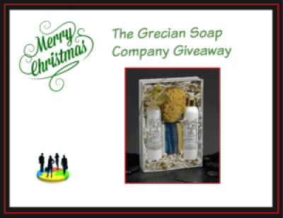 Grecian Soap Company Holiday Gift Guide Giveaway!