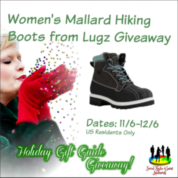 Holiday Gift Guide Women's Lugz Mallard Boots Giveaway