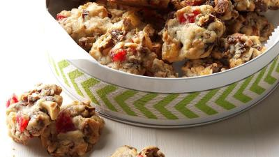 Candied Fruit & Nut Cookies Recipe