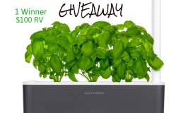 CLICK and GROW Smart Garden 3 Giveaway! $100 RV Ends 1/18
