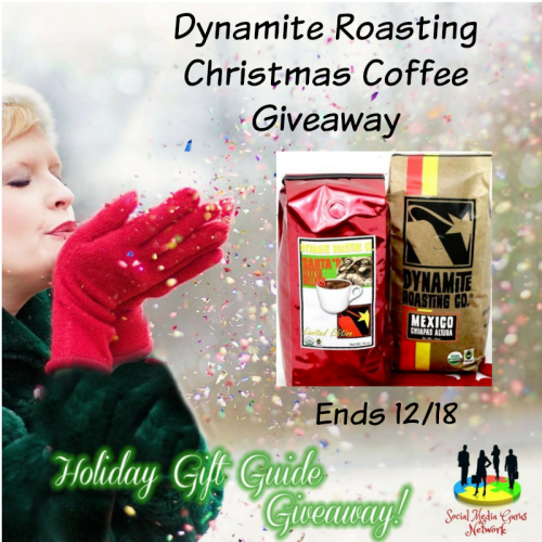 HOLIDAY GIFT GUIDE GIVEAWAY - Dynamite Roasting Christmas Coffee Giveaway