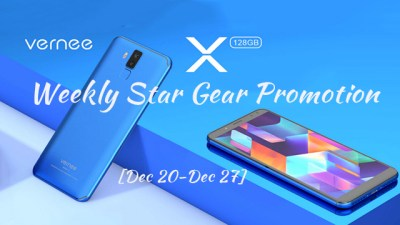 The Vernee X 4G Phablet Flash Sale Ends CHRISTMAS!