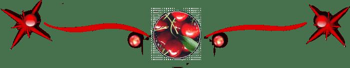 Cherry Transparent Divider