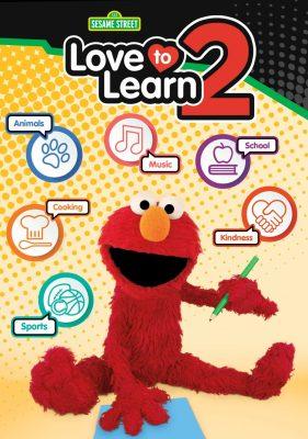 Sesame Street Love to Learn Elmo DVD