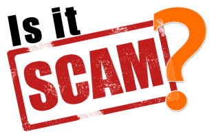 Is It A SCAM? Learn how to tell if a giveaway, winning email, contest, or competition is a for real!