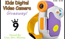 Kids Powpro Digital Video Camera Giveaway Ends 4/14