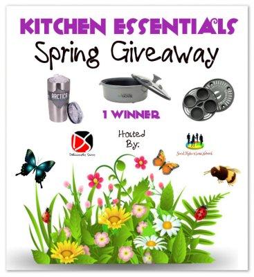 Kitchen Essentials Spring Giveaway ~ Ends 4/01 @lwwmontel @Viatek @SMGurusNetwork