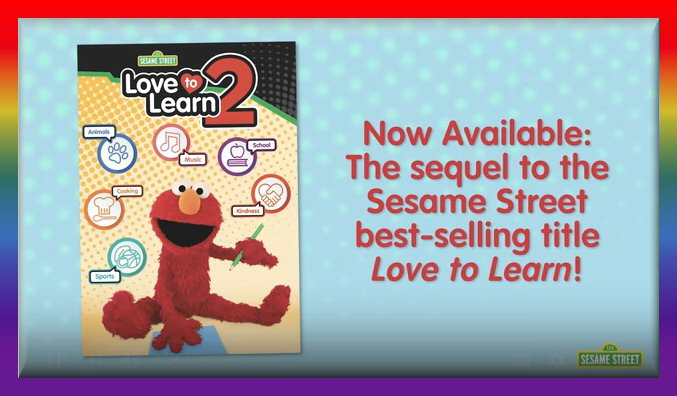 L Is For Learning Elmos Love To Learn 2 On Dvd