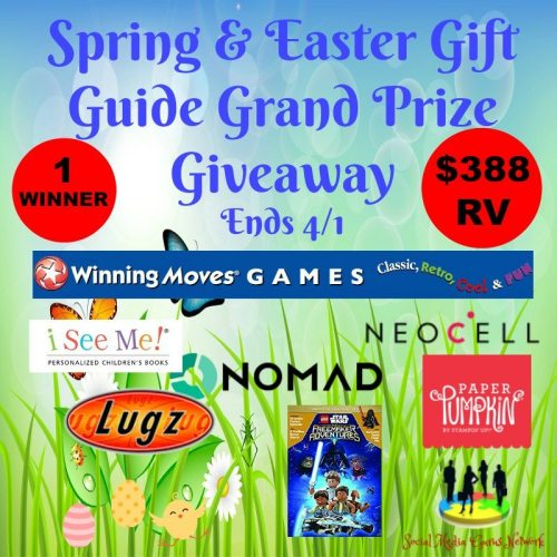 Spring & Easter Gift Guide Grand Prize Giveaway Ends 4/1 - $388 RV