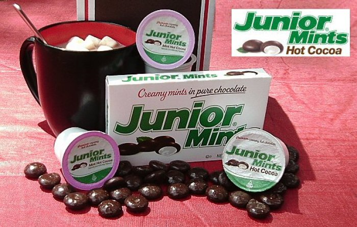 Junior Mints Mint Hot Cocoa - Smooth Peppermint and Indulgent Dark Chocolate
