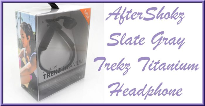 MOTHER'S DAY GIFT AWAY The Gift Stop 300 Gift Card Giveaway - AfterShokz AS600MSG Slate Gray Trekz Titanium Headphone