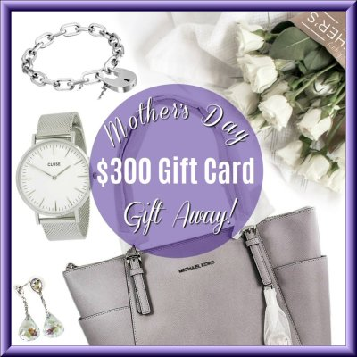 MOTHER'S DAY GIFT AWAY The Gift Stop 300 Gift Card Giveaway Image