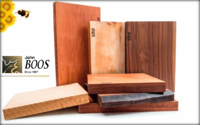 One Lucky Winner Will Receive A John Boos 1887 Rustic-Edge Cutting Board Of Their Choice!