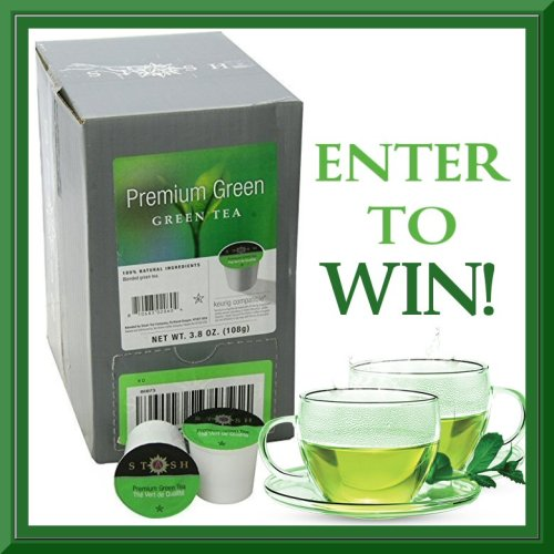 April Hop Giveaway - Stash Premium Green - Green Tea Benefits With Single Serve Convenience APRIL RAIN RAIN GO AWAY! Giveaway Hop