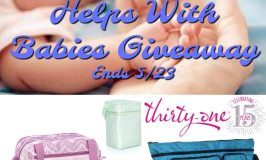 Thirty-One Gifts Helps With Babies Giveaway Ends 5/23