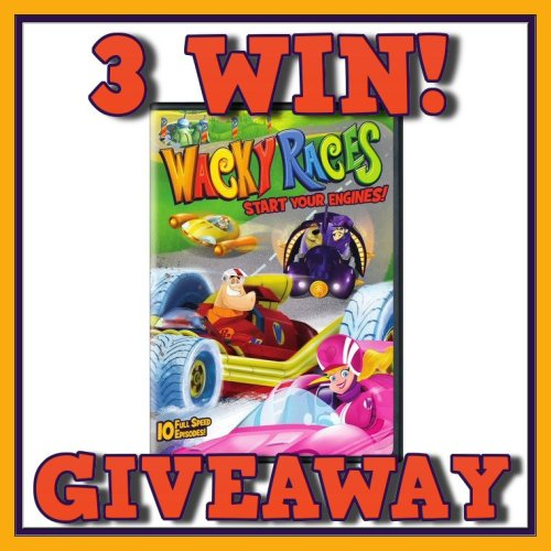 Hanna-Barbera Wacky Races: Start Your Engines DVD Giveaway Ends 4/22
