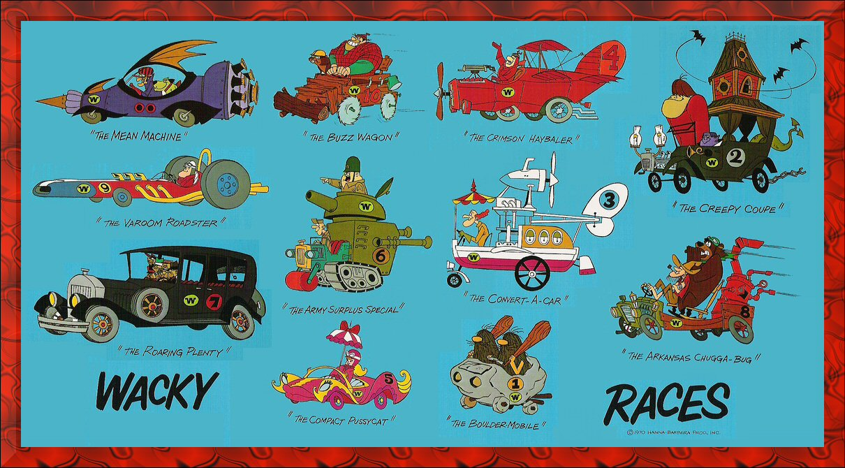 Image result for wacky races