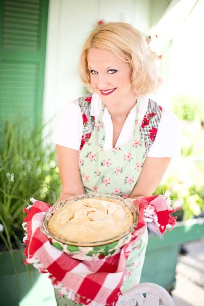 Woman Holding Apple Pie Surviving Holidays While Dieting Sugar Pusher Tip